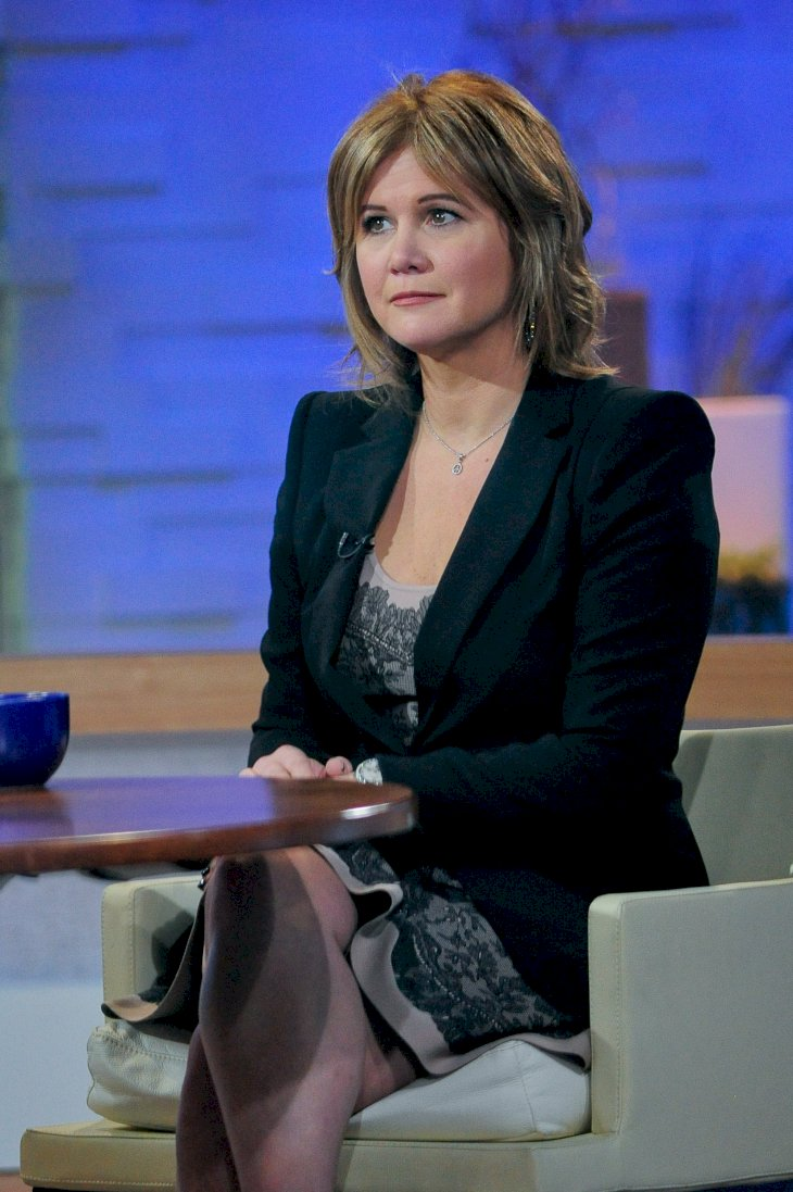 "Image Credits: Getty Images / Ray Tamarra | Actress Tracey Gold tapes an interview at ""Good Morning America"" at the ABC Times Square Studio on November 28, 2011 in New York City."