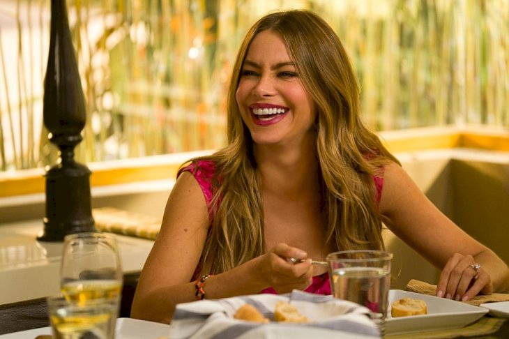 Image Credit: Getty Images / Sofia Vergara on the set of Modern Family.