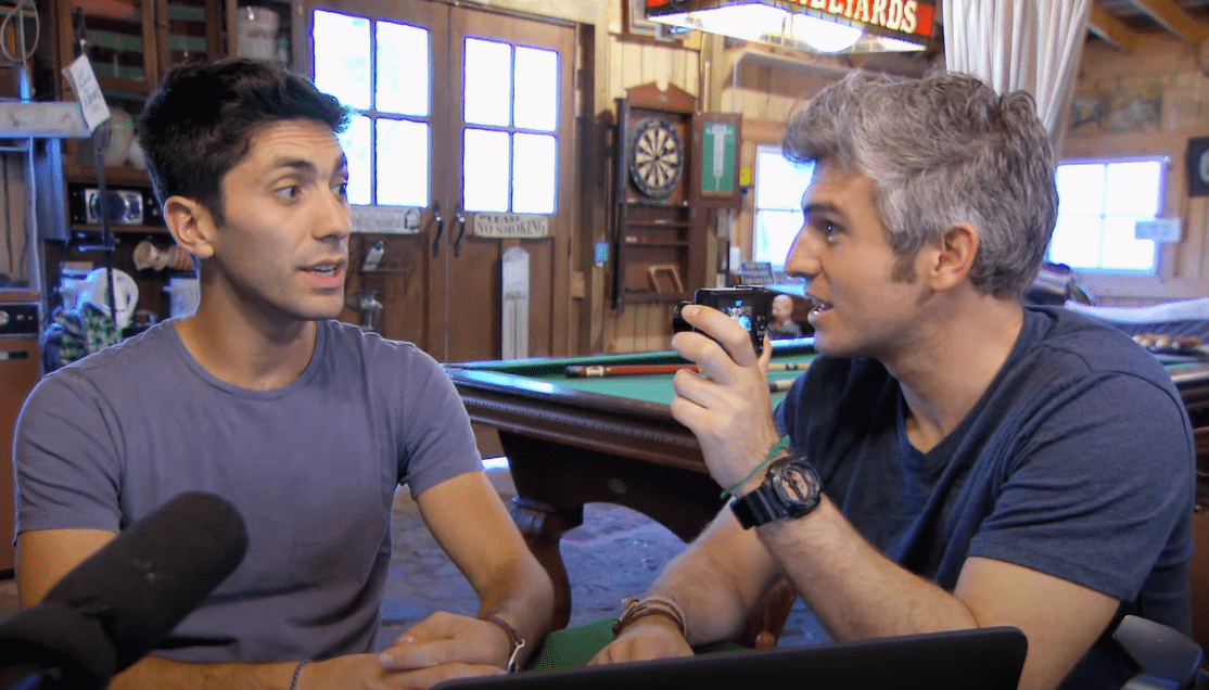 Image Source: YouTube/MTV Catfish - Nev Schulman and Max Joseph, creators of Catfish