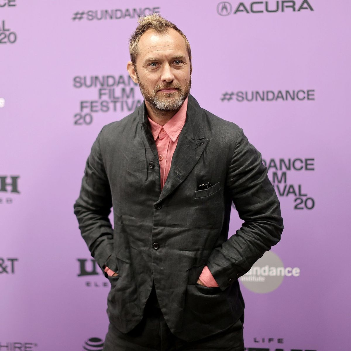 "Jude Law attends the 2020 Sundance Film Festival - ""The Nest"" Premiere at Eccles Center Theatre on January 26, 2020 in Park City, Utah. (Photo by Neilson Barnard/Getty Images)"