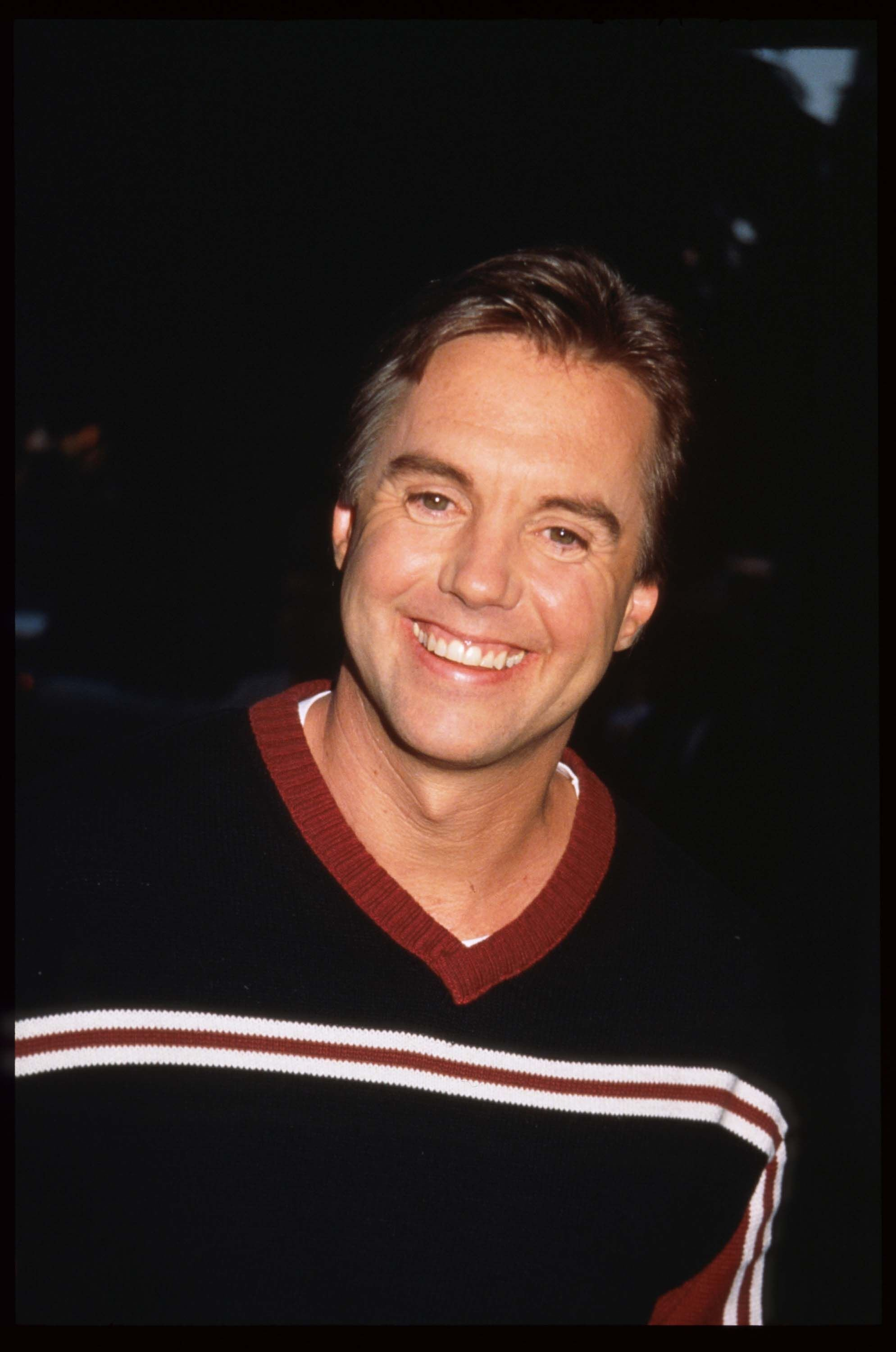 Shaun Cassidy smiles at a Fox network press party July 25, 1997 | Getty Images / Global Images Ukraine