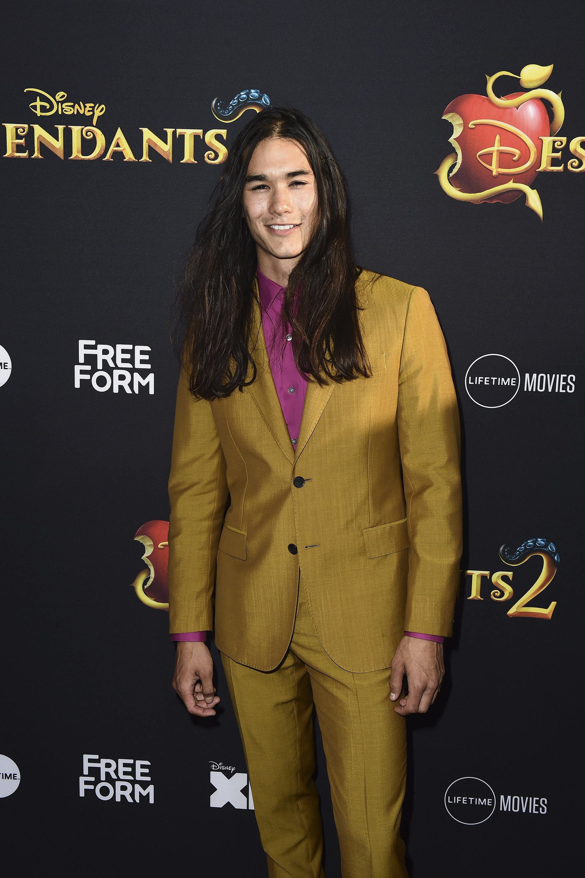 Booboo Stewart at the premiere of Descendants 2 / CC BY-ND 2.0 / Walt Disney Television / flickr