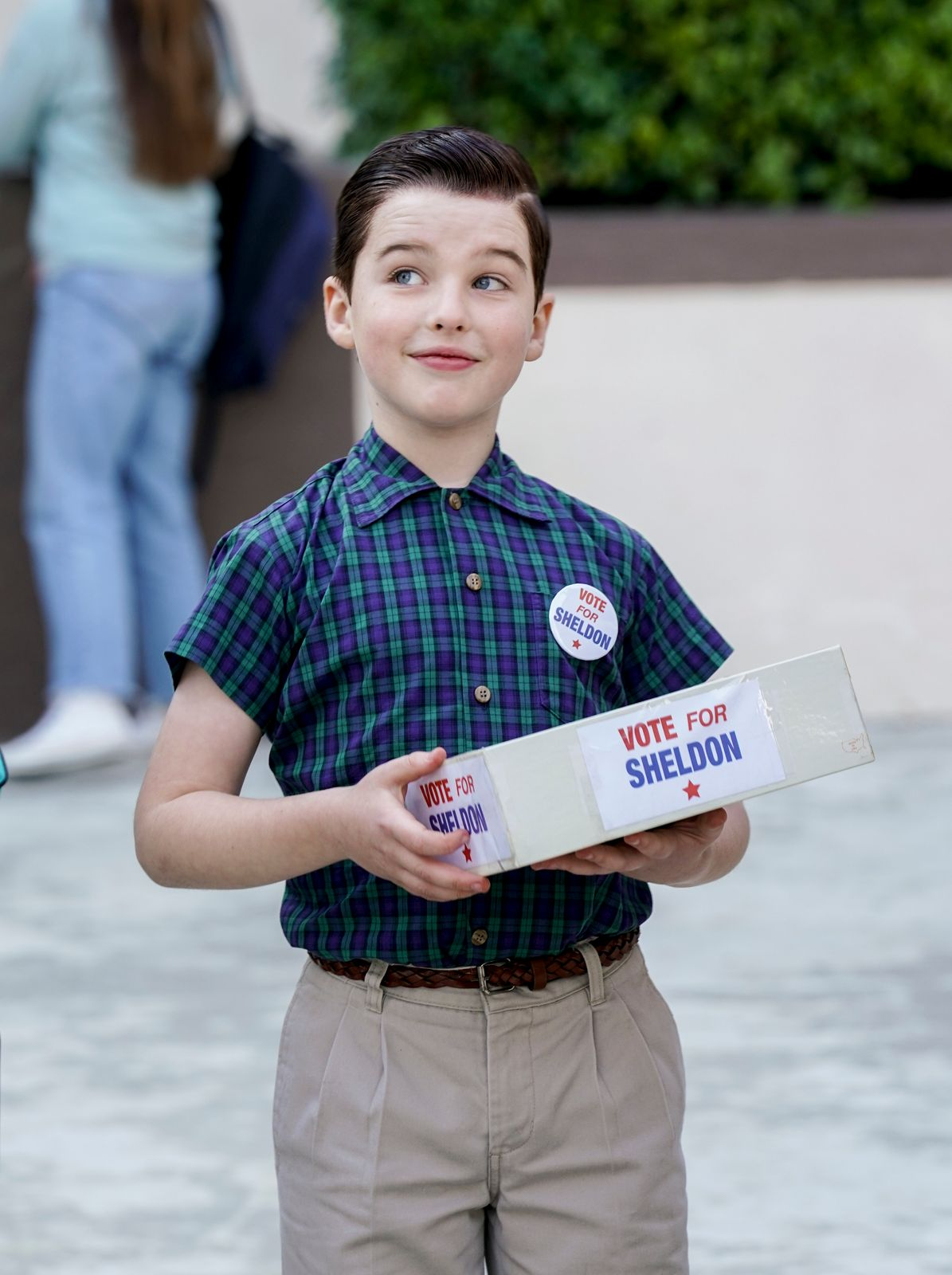 Iain Armitage - Young Sheldon season 2/Photo:Getty Images