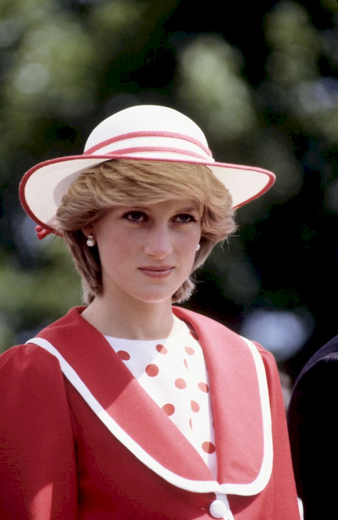 Image Credit: Getty Images / Princess Diana at a public event.