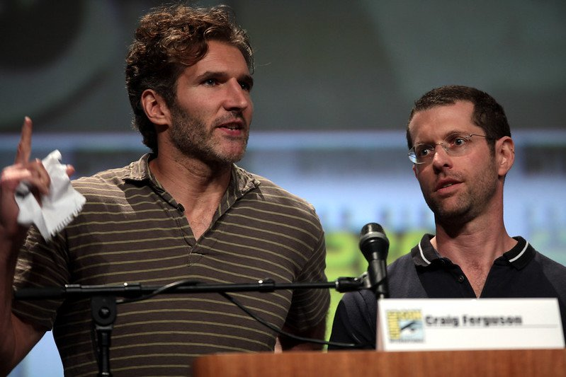 """David Benioff & D. B. Weiss"" (CC BY-SA 2.0) / Gage Skidmore / flickr"