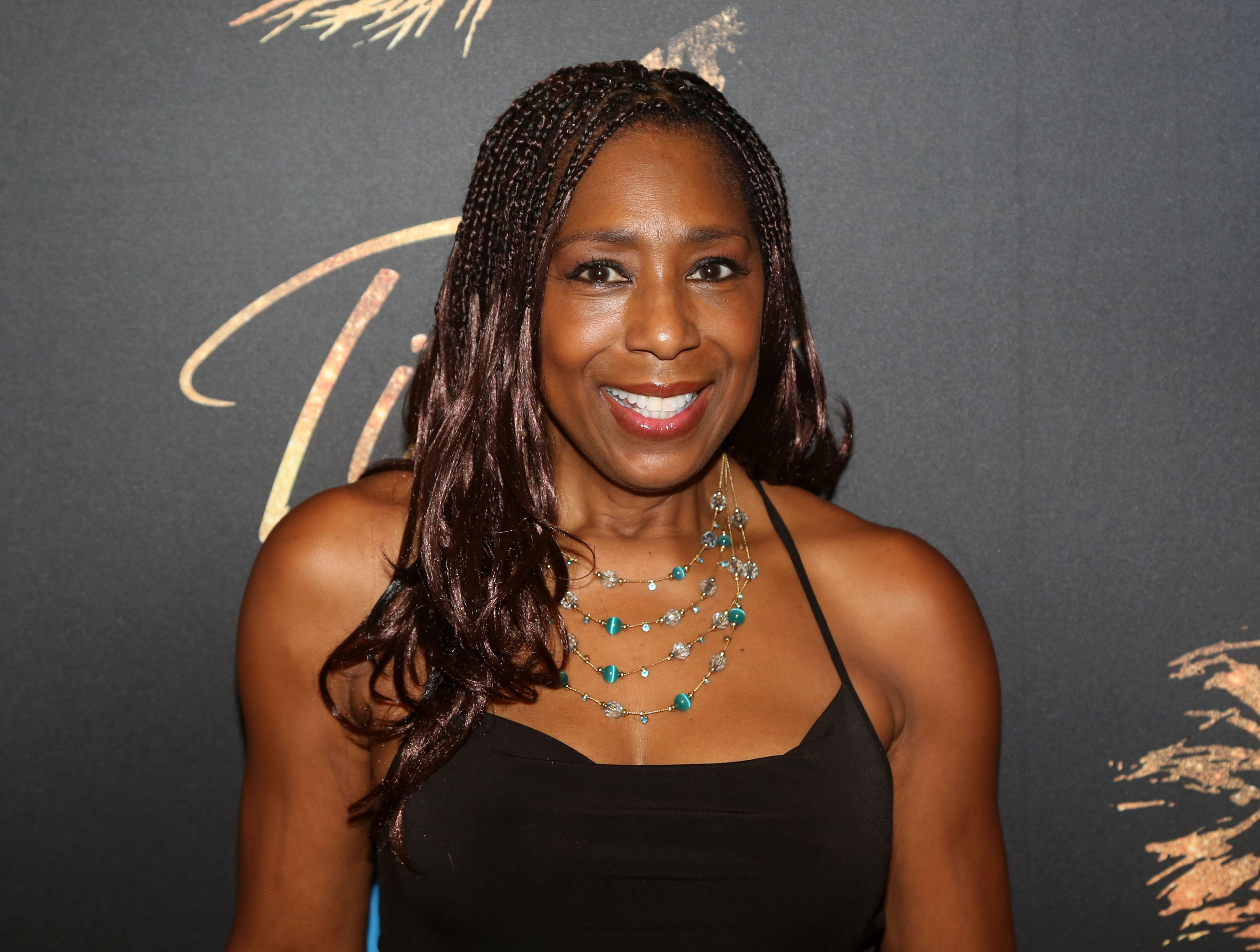 "Image Credits: Getty Images / Bruce Glikas | Dawnn Lewis poses at a photo call for the new broadway musical ""Tina - The Tina Turner Musical"" at The New 42nd Street Studios on September 3, 2019 in New York City."