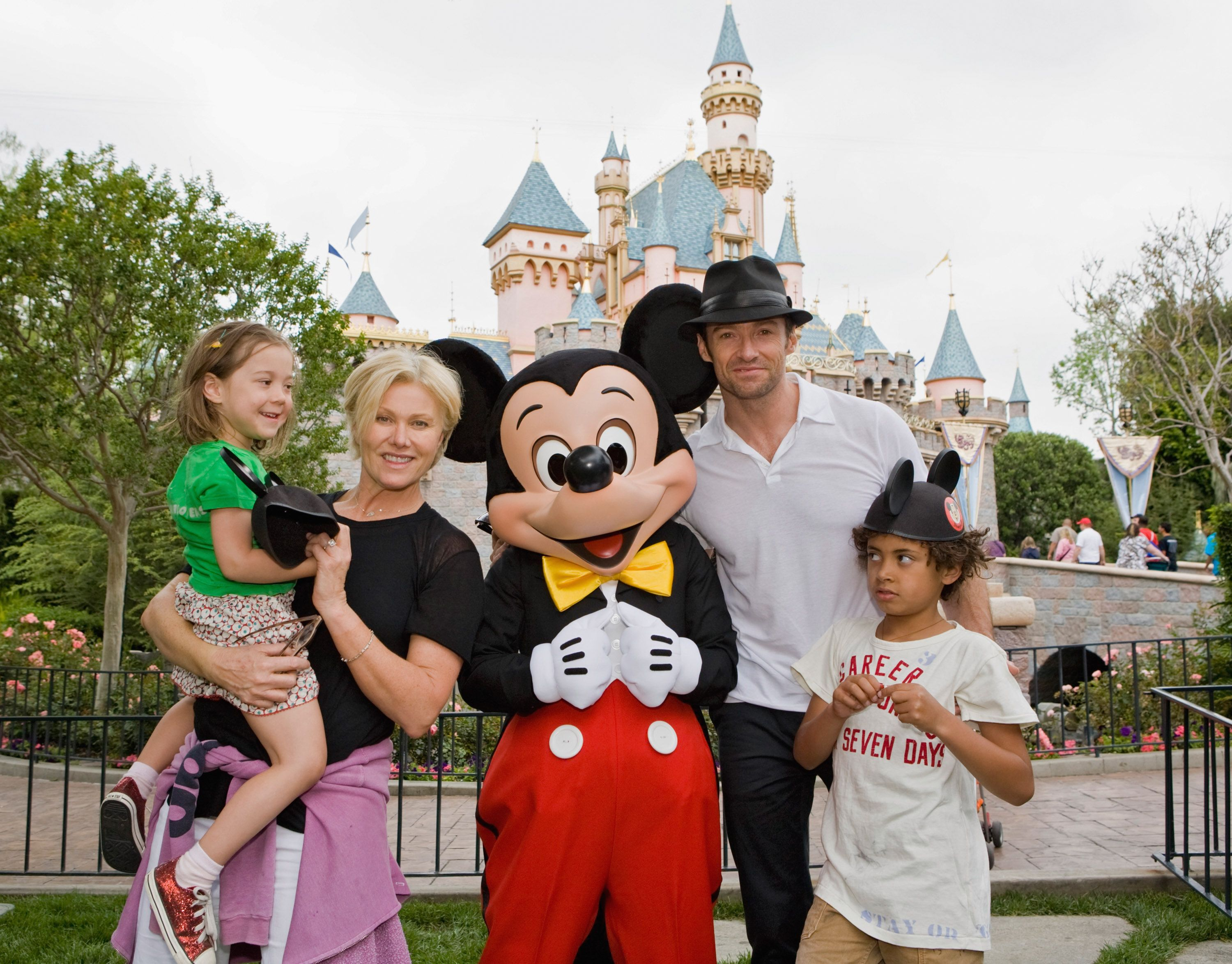 Hugh Jackman and Deborra-Lee Furness and their children Oscar and Ava Jackman/Photo:Getty Images