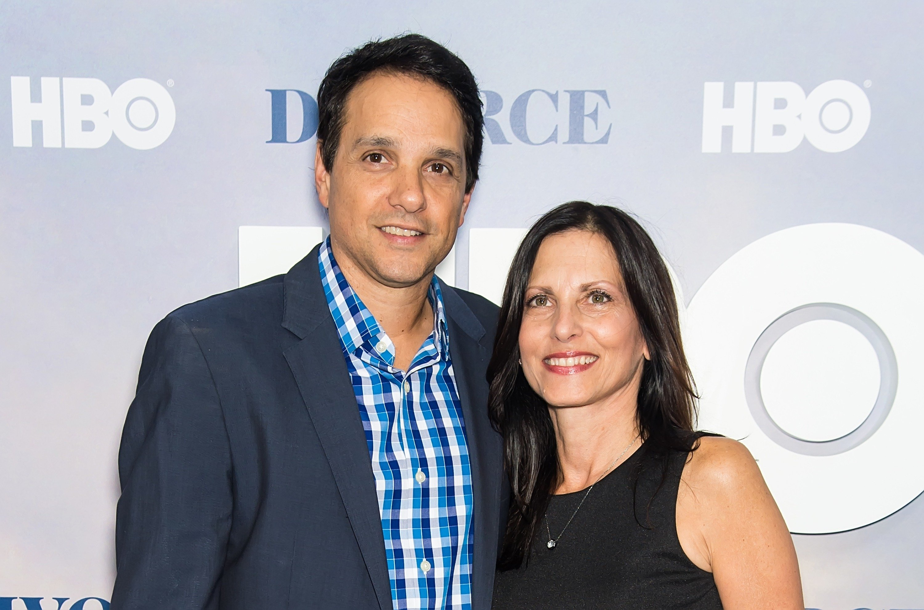 Image Credit: Getty Images/FilmMagic/Gilbert Carrasquillo |  Ralph Macchio and wife, Nurse practitioner, Phyllis Fierro attend the 'Divorce' New York Premiere