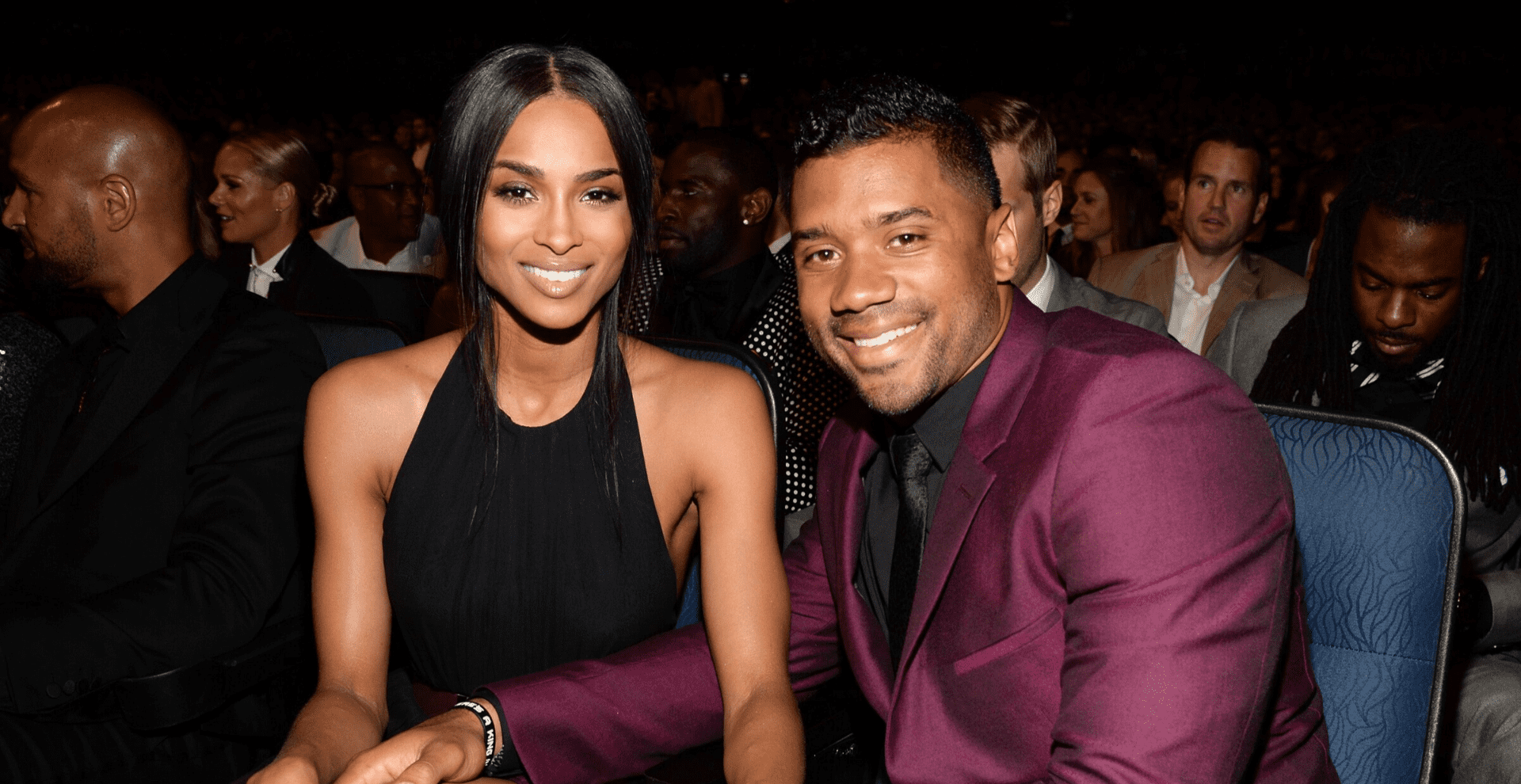 Ciara and Russel Wilson/Photo:Getty Images