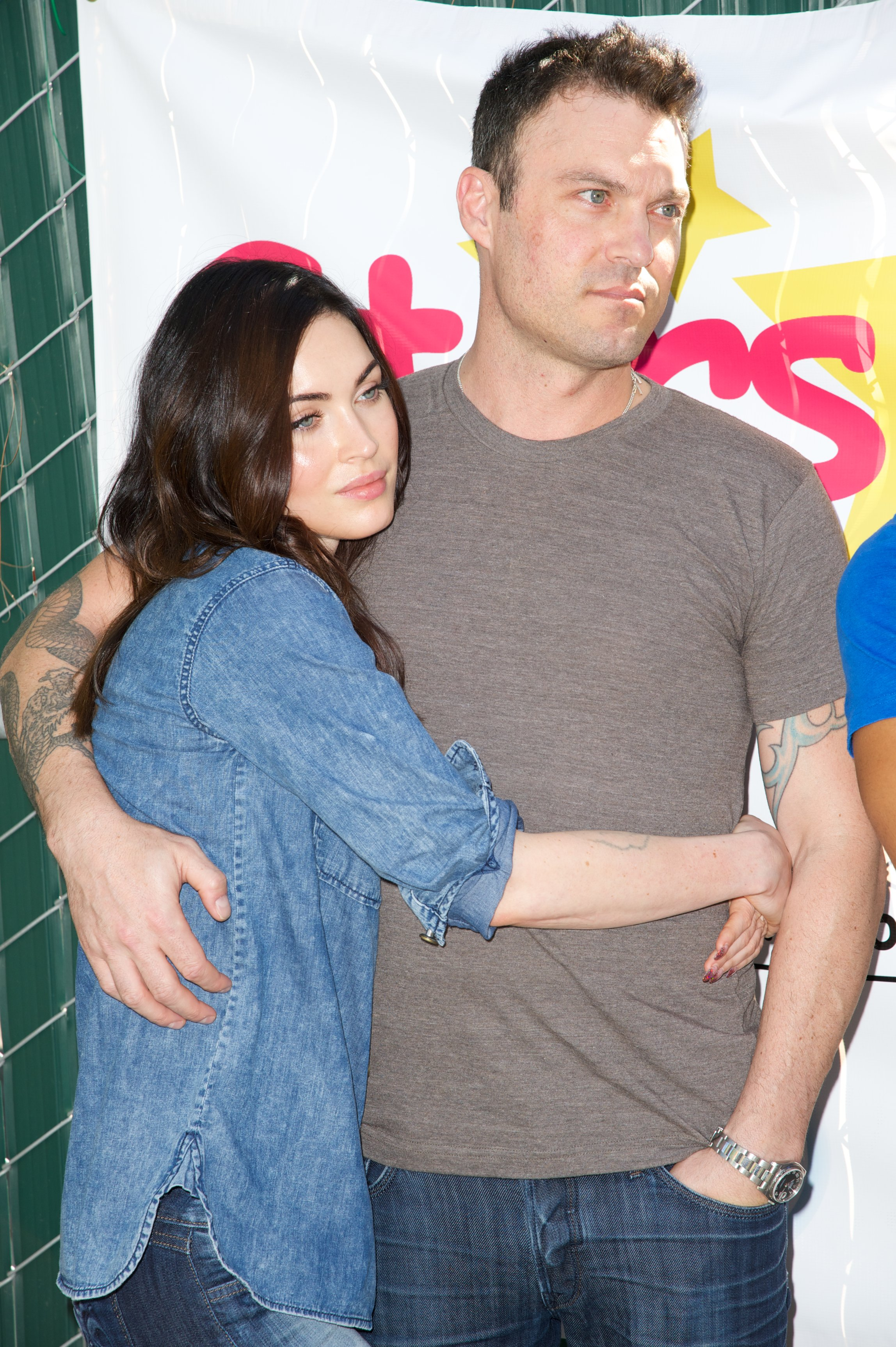 "Megan Fox and Brian Austin Green attend The Celebrity Source's Inaugural ""Stars 4 Smiles"" / Photo:Getty Images"