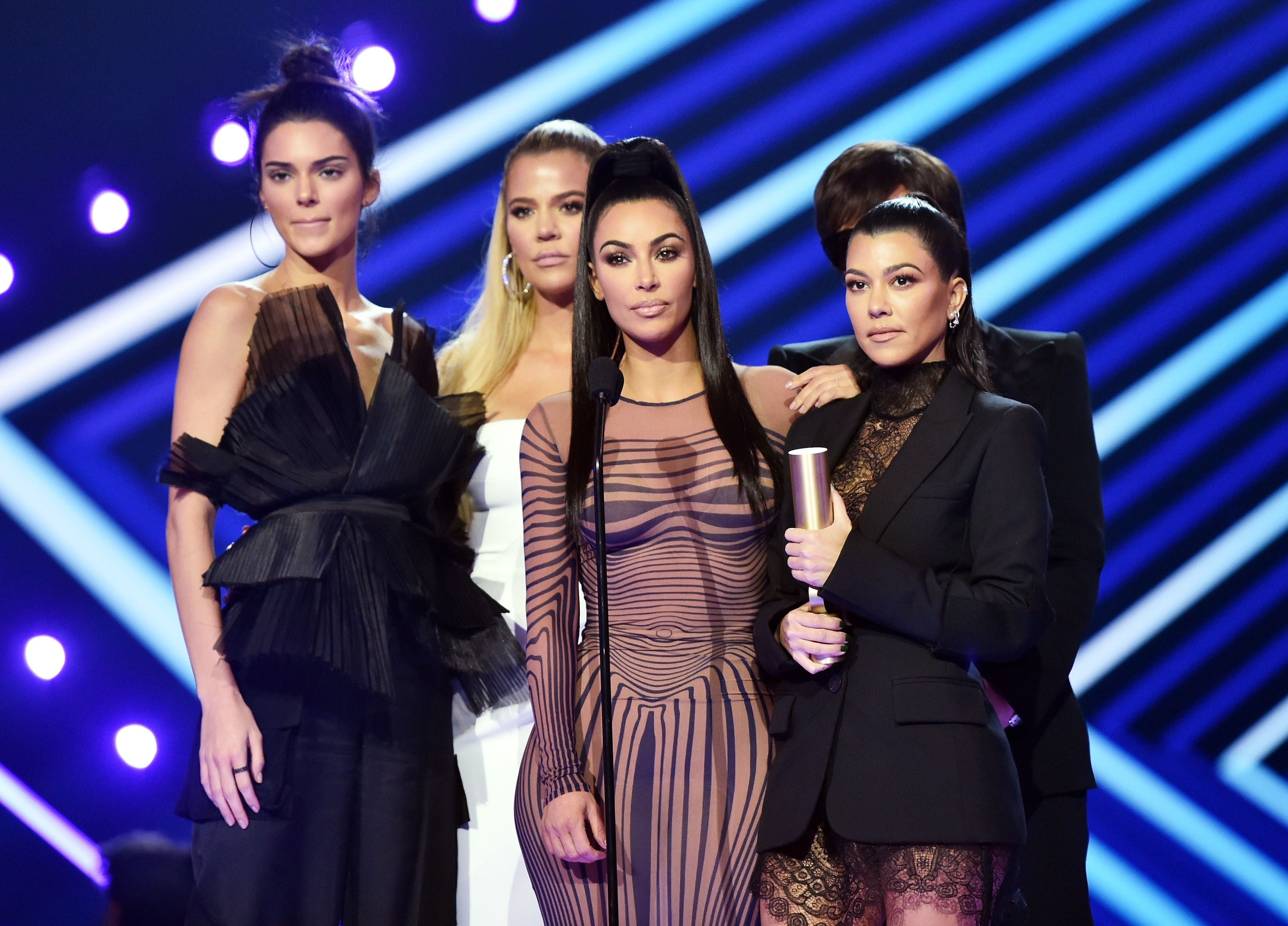 The Kardashian sisters / Getty Images