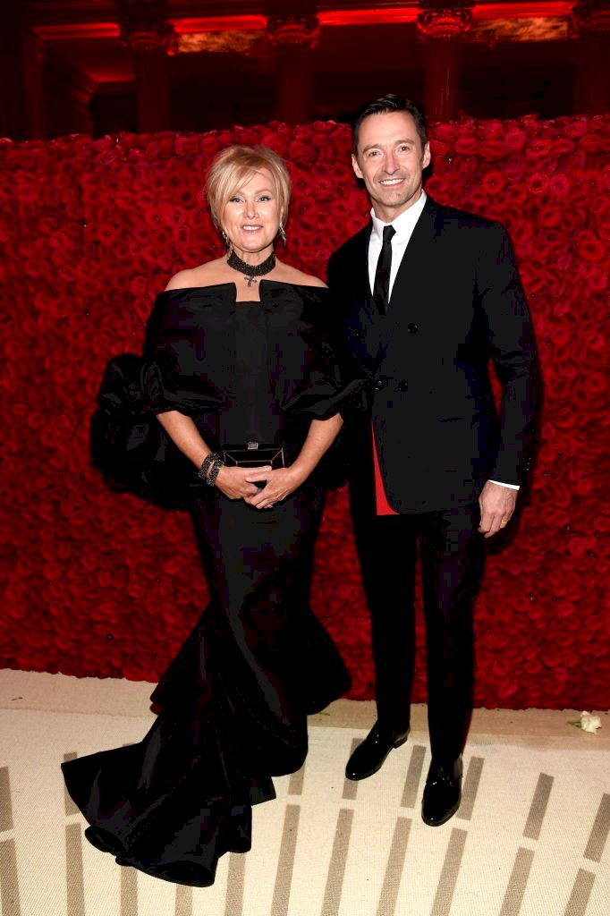Image Credit: Getty Images / Deborra-lee Furness and Hugh Jackman attend the Heavenly Bodies: Fashion & The Catholic Imagination Costume Institute Gala at The Metropolitan Museum of Art.