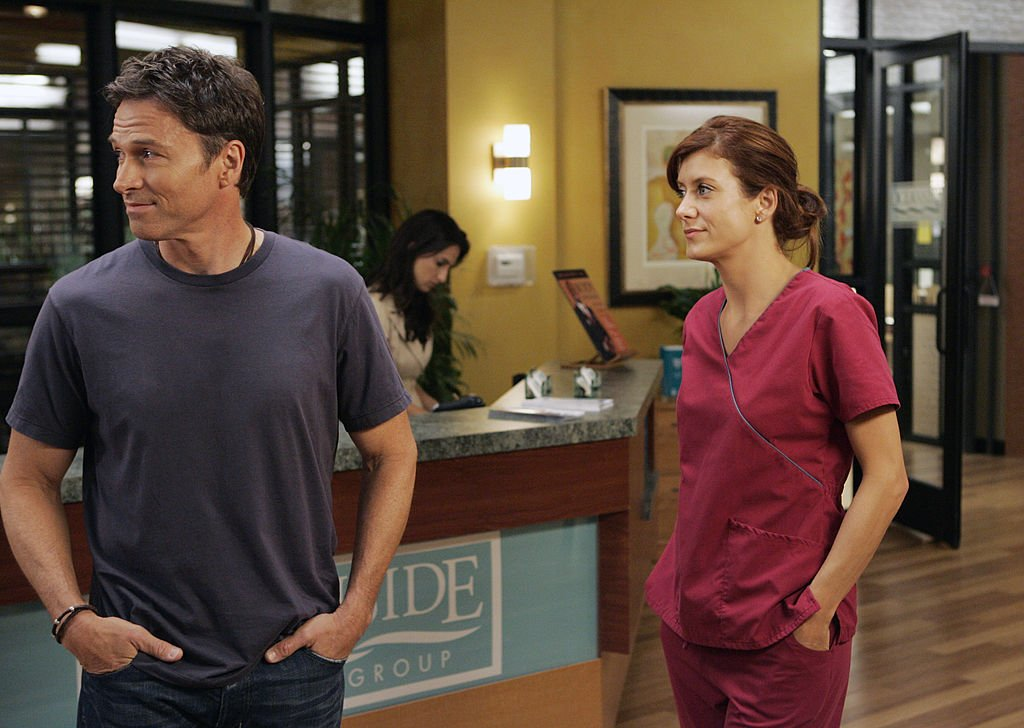 Image Credit: Getty Images/Walt Disney Television via Getty Images/Craig Sjodin | Kate Walsh and Tim Daly on Private Practice