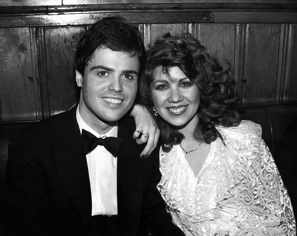 Image Credit: Getty Images / Donny Osmond and wife Debbie circa 1982 in New York City.