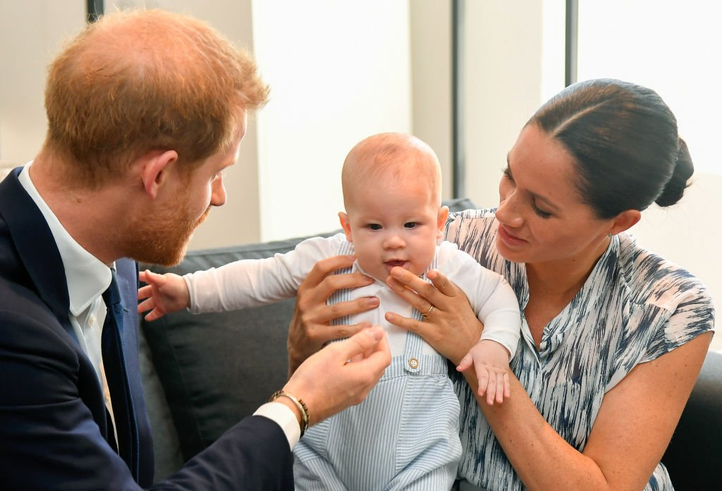 Image Credit: Getty Images / Prince Harry, Duke of Sussex and Meghan, Duchess of Sussex and their baby son Archie Mountbatten-Windsor on September 25, 2019 in Cape Town, South Africa.