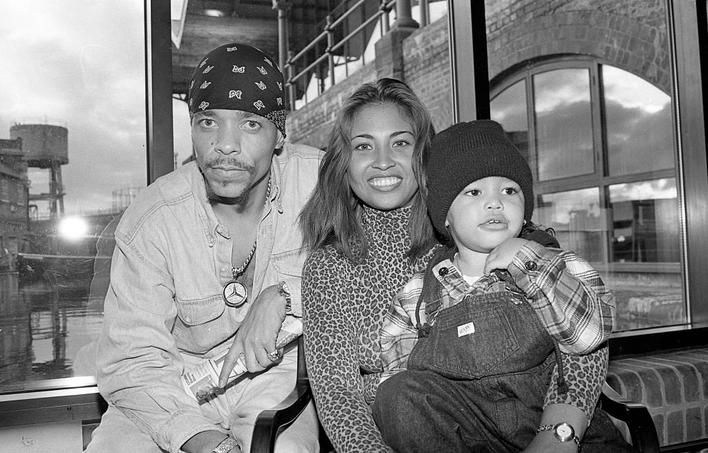 Image Credit: Getty Images / Ice T poses with Darlene Ortiz and son Ice Tracy Marrow, London, United Kingdom, 1993.