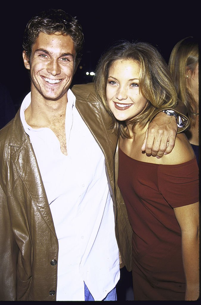 Image Credits: Getty Images / Mirek Towski / DMI / The LIFE Picture Collection | Oliver Hudson and sister, actress Kate Hudson.