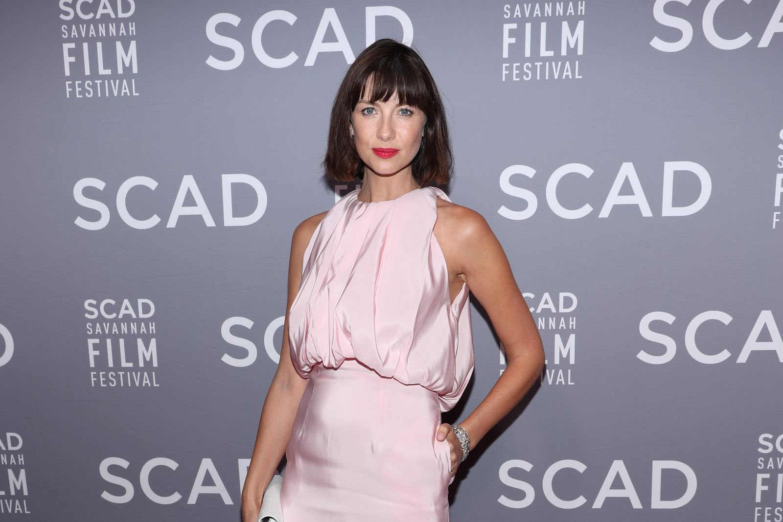 Caitriona Balfe attending the 21st SCAD Savannah Film Festival - Red Carpet/Photo:Getty Images