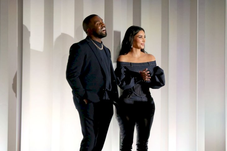 Image Credit: Getty Images / Kim Kardashian and Kanye West attend an event.