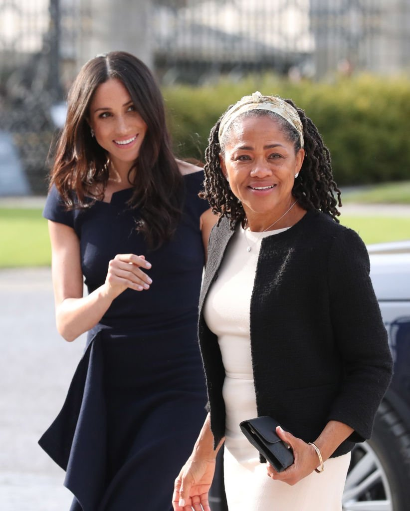 Meghan Markle and her mother Doria Ragland / Getty Images