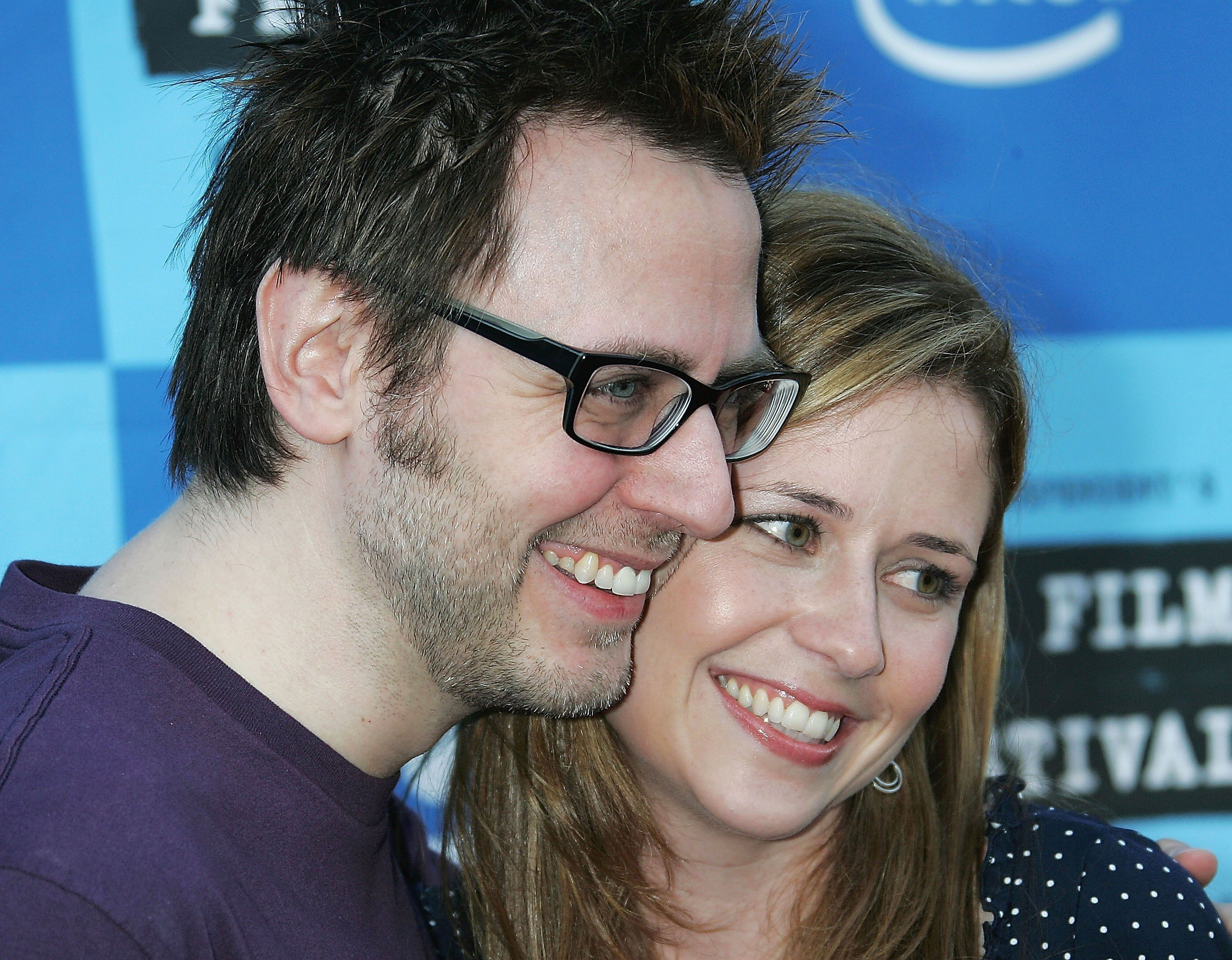 Jenna Fischer used to be married to James Gunn / Getty Images