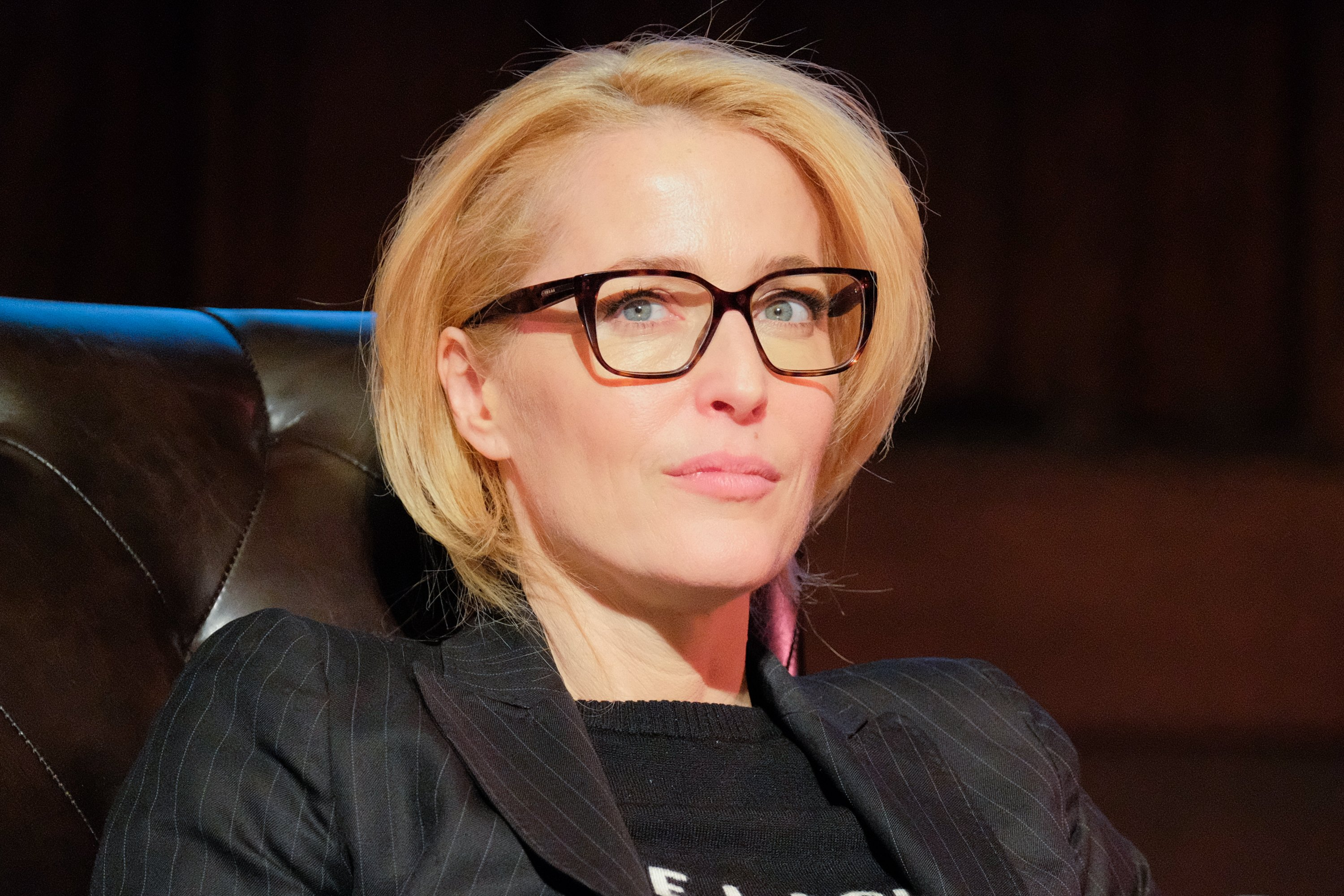 "Image Credits: Getty Images | Gillian Anderson played Dana Scully in ""The X Files"""