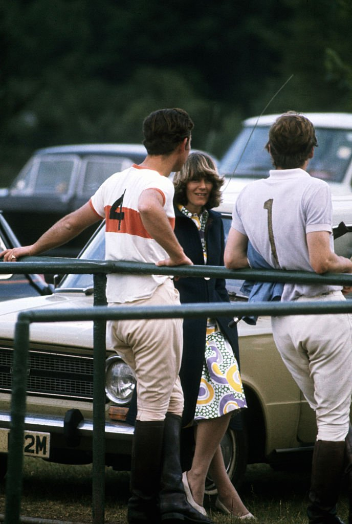 Image Credit: Getty Images/Corbis via Getty Images/CORBIS/© Hulton-Deutsch Collection | Prince Charles chats to Camilla Parker-Bowles at a polo match.