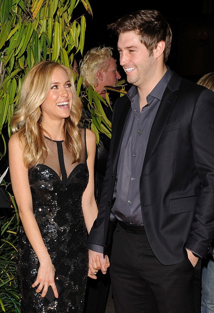"Image Credits: Getty Images / JB Lacroix / WireImage | Kristin Cavallari and Jay Cutler arrive at the Cirque du Soleil ""OVO"" Celebrity Opening Night Gala at Santa Monica Pier on January 20, 2012 in Santa Monica, California."