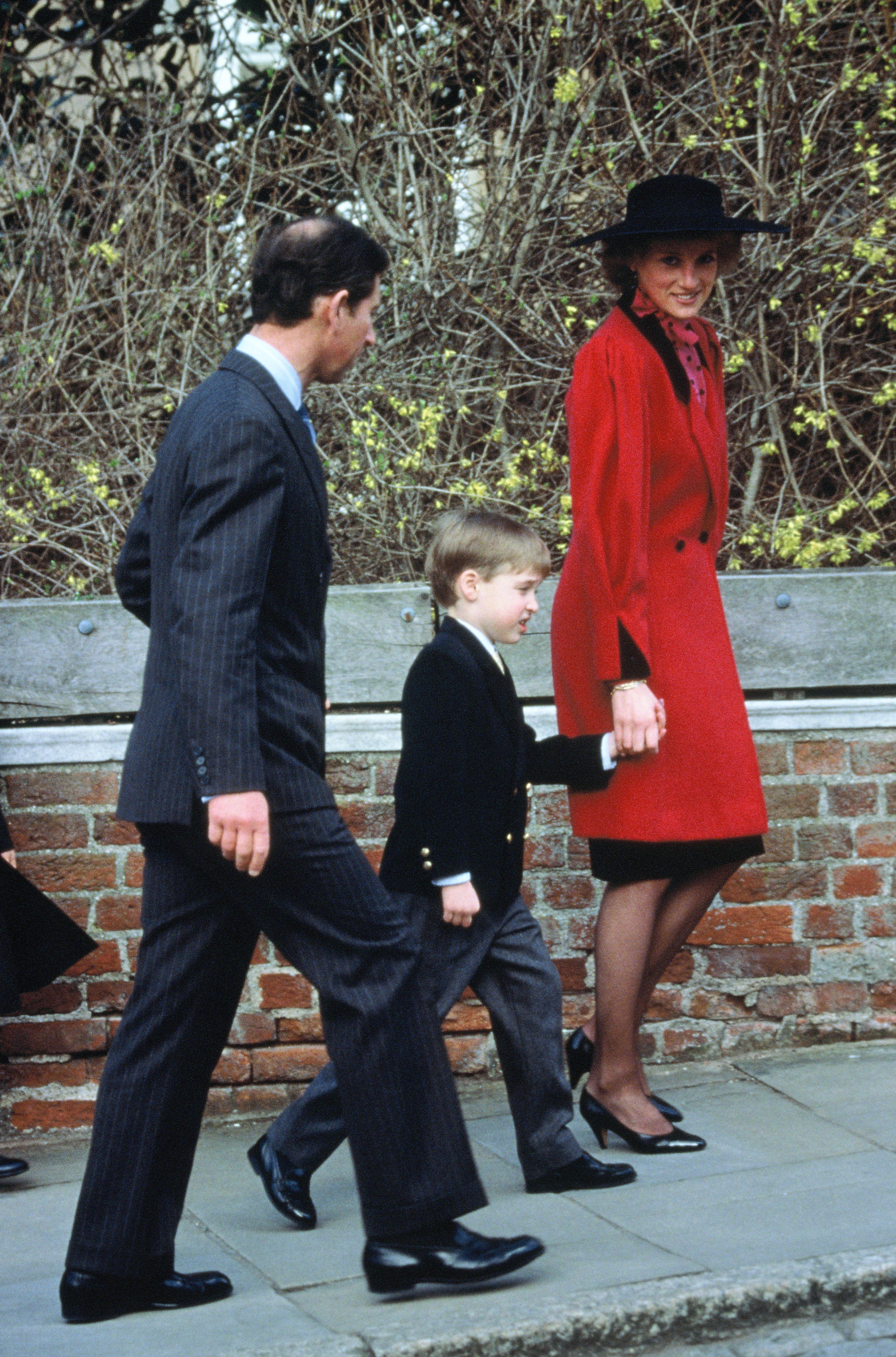 Image Credits: Getty Images | Prince Charles And Princess Diana Walking With Their Son, Prince William