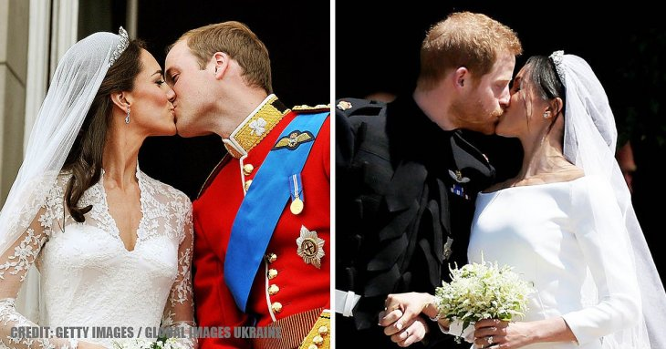 Royal expert compares wedding photos of Duchesses Kate and Meghan