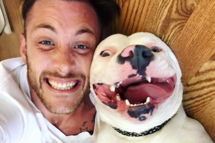 This Man Posted a Selfie With His Rescue Dog – and People Called the Police