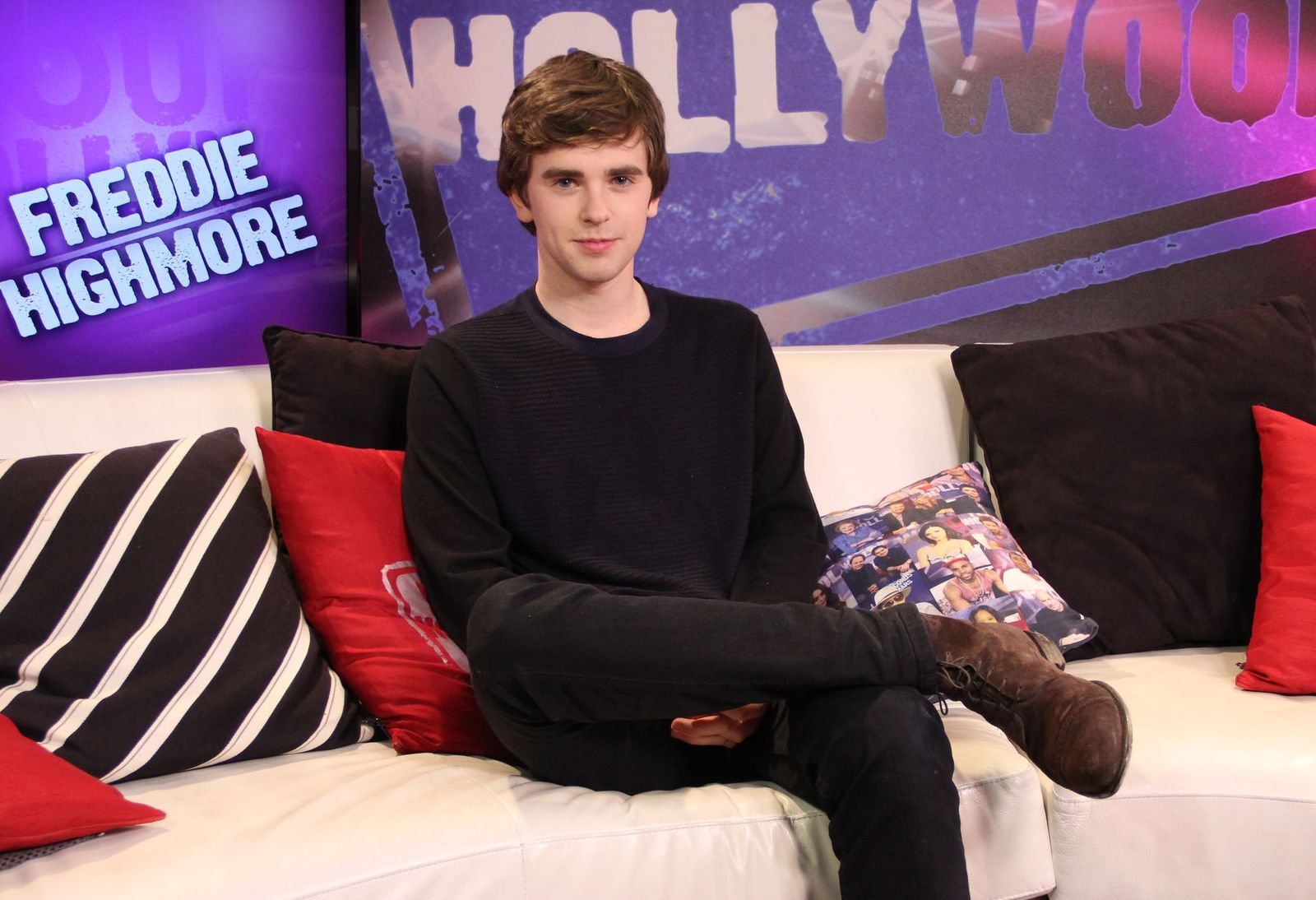 Freddie Highmore/Photo:Getty Images