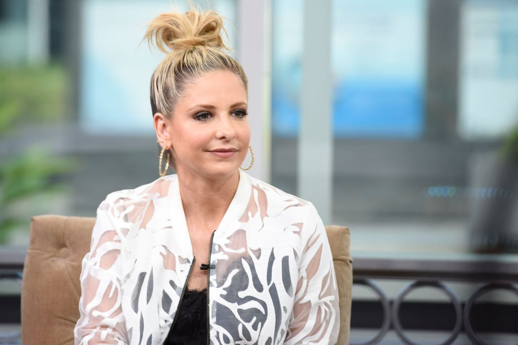 Image Credit: Getty Images / Sarah Michelle Gellar appears on Hollywood Today Live at W Hollywood on April 7, 2017 in Hollywood, California.