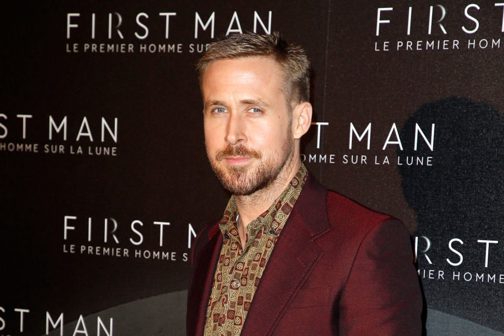 "Image Credit: Getty Images / Actor Ryan Gosling attends ""First Man"" Paris Premiere at Cinema UGC Normandie on September 25, 2018 in Paris, France."
