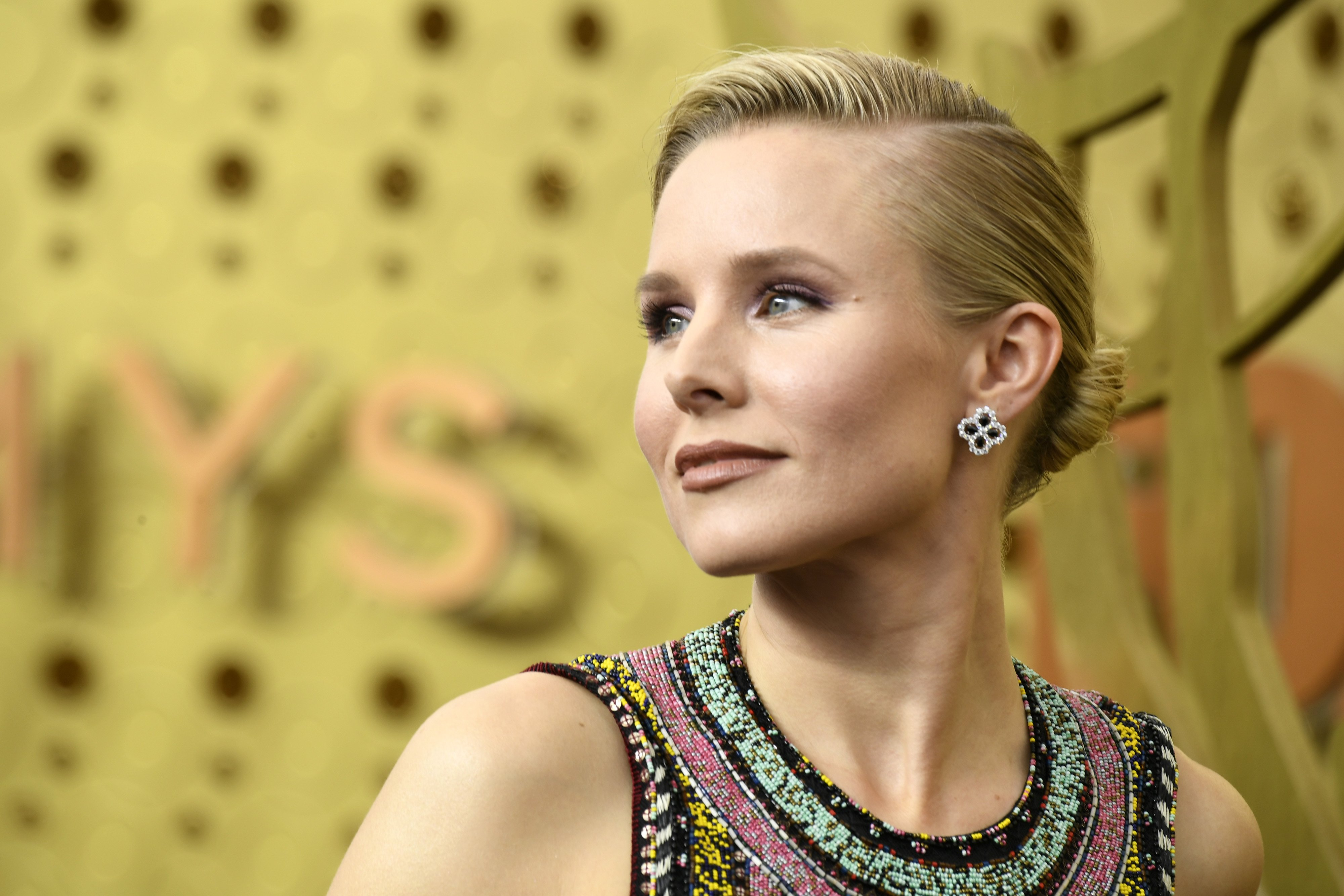 Image Credits: Getty Images / Frazer Harrison | Kristen Bell attends the 71st Emmy Awards at Microsoft Theater on September 22, 2019 in Los Angeles, California.