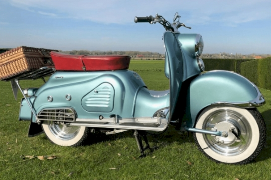 Vintage Scooters To Fall In Love With!