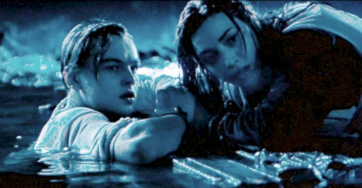 Image Credit: Getty Image/CBS via Getty Images | Leo DiCaprio and Kate Winslet in the final moments of Titanic