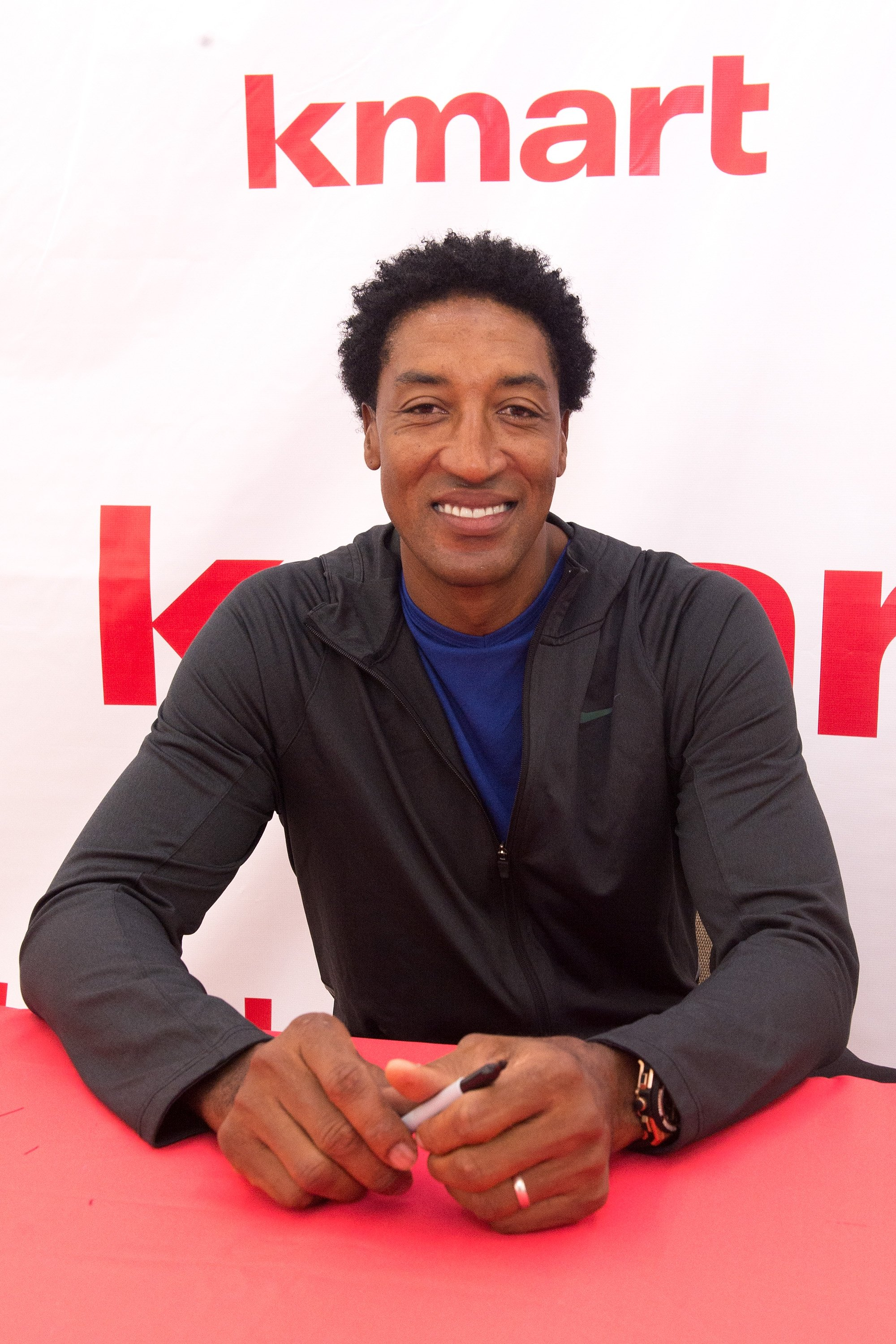 Image Credits: Getty Images / Daniel Boczarski | Scottie Pippen attends 'A Whole Lotta Awesome' At Re-Grand Opening of Revitalized Kmart Store on August 27, 2016 in Des Plaines, Illinois.