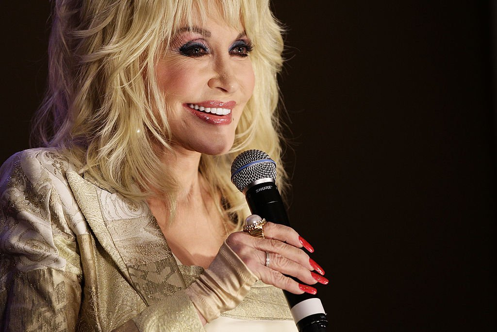 Image Credits: Getty Images / Brendon Thorne | Dolly Parton talks to the media at a press conference at the InterContinental Sydney on November 10, 2011 in Sydney, Australia.