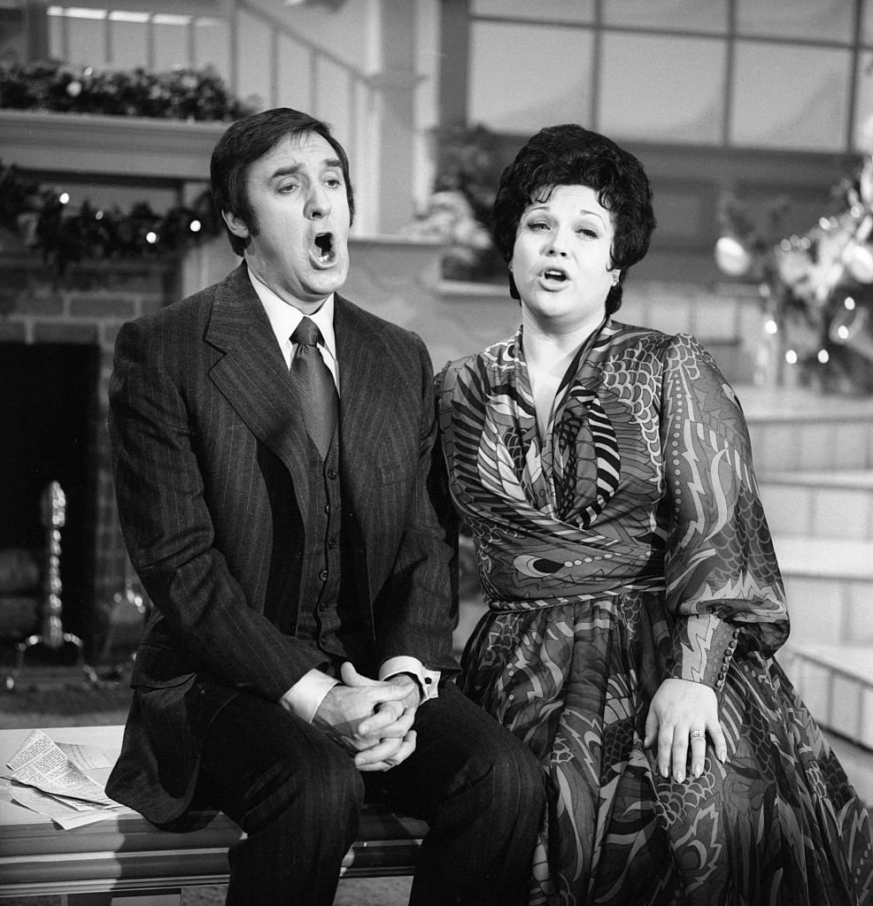 Image Source: Getty Images/CBS Photo Archive| The Jim Nabors Hour variety show featuring from left: Jim Nabors, and opera singer Marilyn Horne. Show Date December 24, 1970