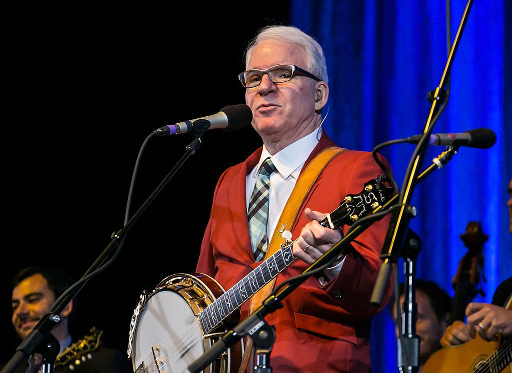 Image Credit: Getty Images / Steve Martin and the Steep Canyon Rangers perform at The Soundboard, Motor City Casino on June 5, 2014 in Detroit.