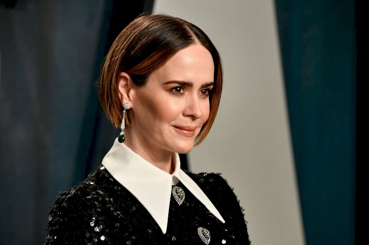 Sarah Paulson attends the 2020 Vanity Fair Oscar Party / Photo:Getty Images