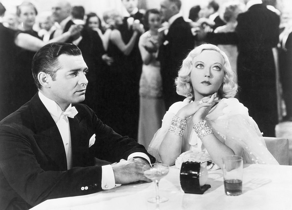"Image Credit: Getty Images / Star, Clark Gable and co-star Marion Davies in ""Cain and Mabel"" in 1936."