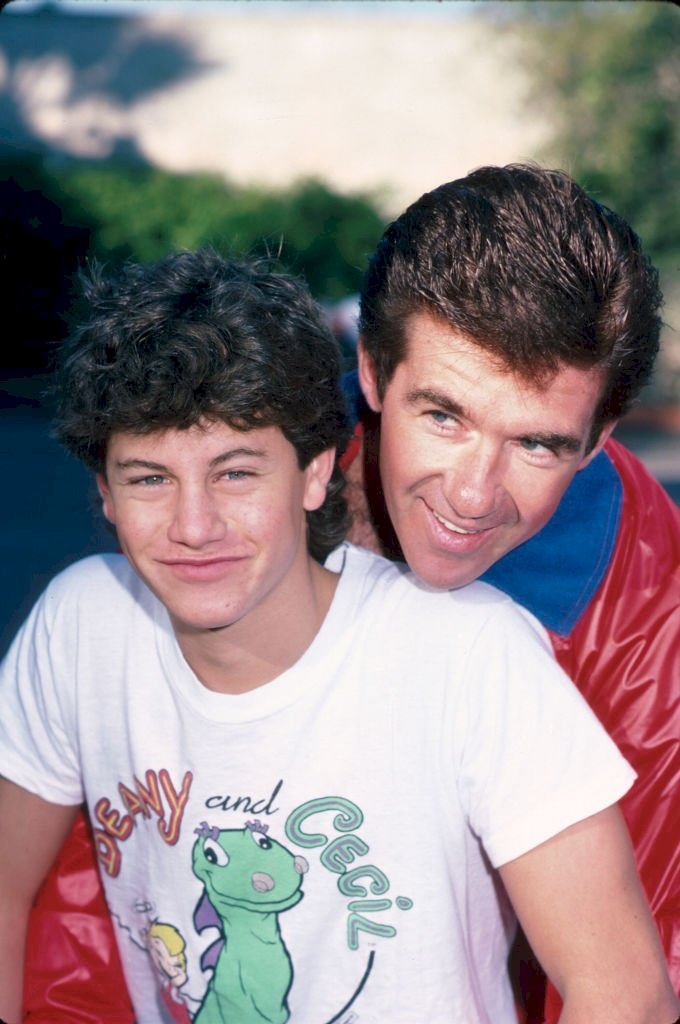 Image Credits: Getty Images / Time Life Pictures / DMI / The LIFE Picture Collection | Actors Kirk Cameron and Alan Thicke.