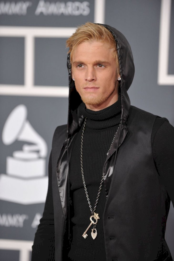 Aaron Carter arrives at the 52nd Annual GRAMMY Awards held at Staples Center on January 31, 2010 in Los Angeles, California. (Photo by John Shearer/WireImage)