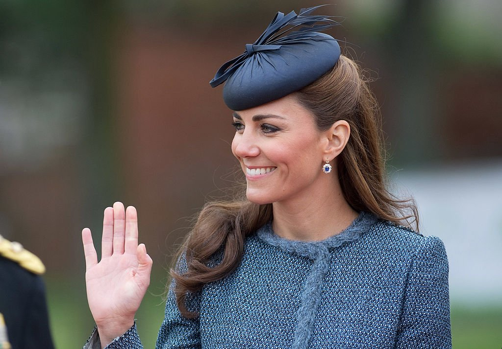 Image Credit: Getty Images / Catherine, Duchess of Cambridge attends Vernon Park during a Diamond Jubilee visit to Nottingham on June 13, 2012 in Nottingham, England.