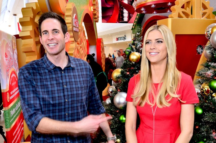 Image Credit: Getty Images/Getty Images for Lakewood Center/Jerod Harris | Tarek and Christina El Moussa, hosts of HGTV's hit show Flip or Flop