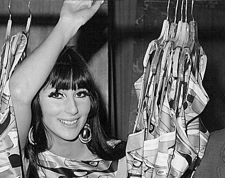 Image Source: Wikimedia Commons/Public Domain/Cher on the set of the television series The Man from U.N.C.L.E., 1967