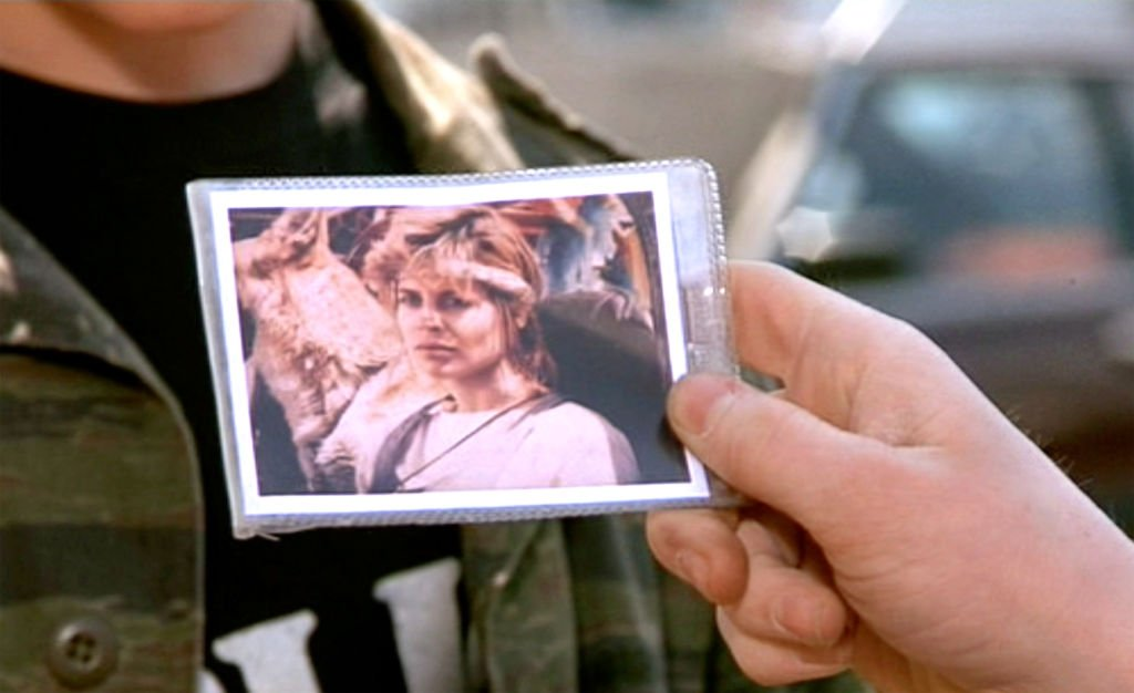 "Image Credits: Getty Images / CBS / Paramount Pictures | The movie ""Terminator 2: Judgment Day"", (alt: T2) directed by James Cameron. Seen here in a Polaroid photo taken in 1984 of Sarah Connor, (played by Linda Hamilton). The photo is in the possession of John Connor. Theatrical wide release July 3, 1991."