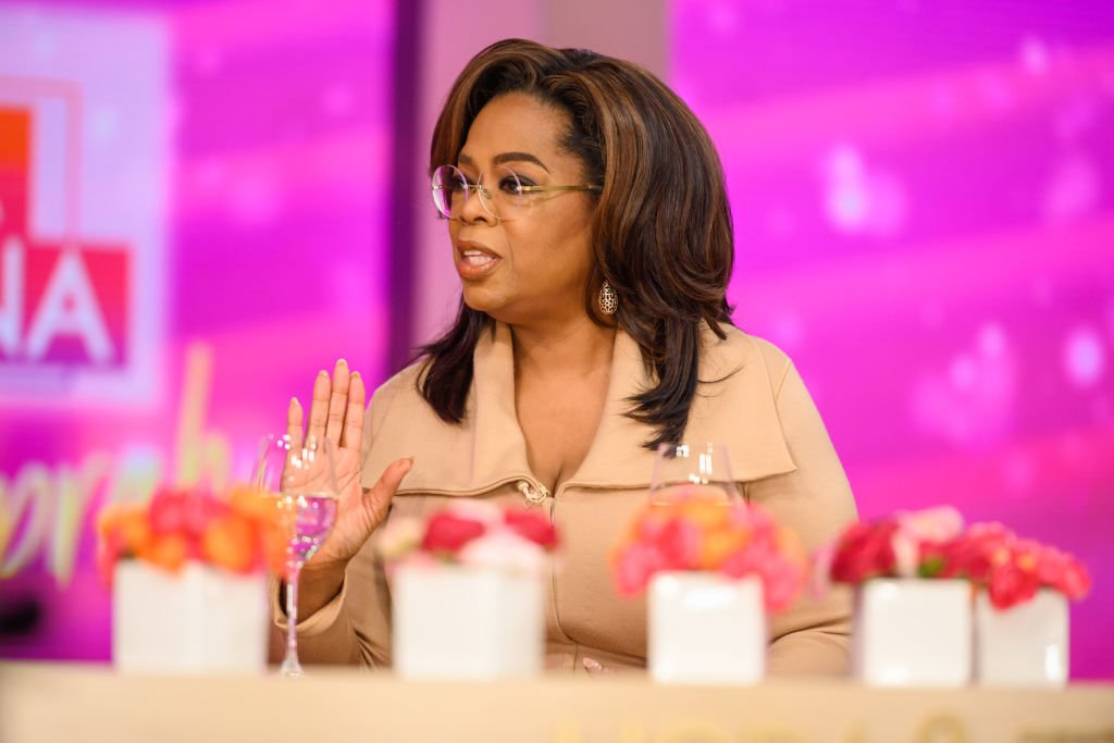 Image Credit: Getty Images / Oprah Winfrey on Friday, February 7, 2020.